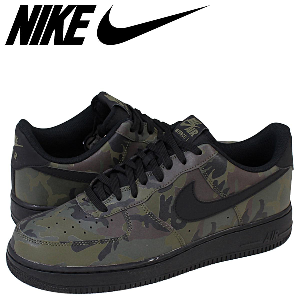 NIKE air force Nike sneakers AIR FORCE 1 07 LV8 air force 718,152 203 green duck men