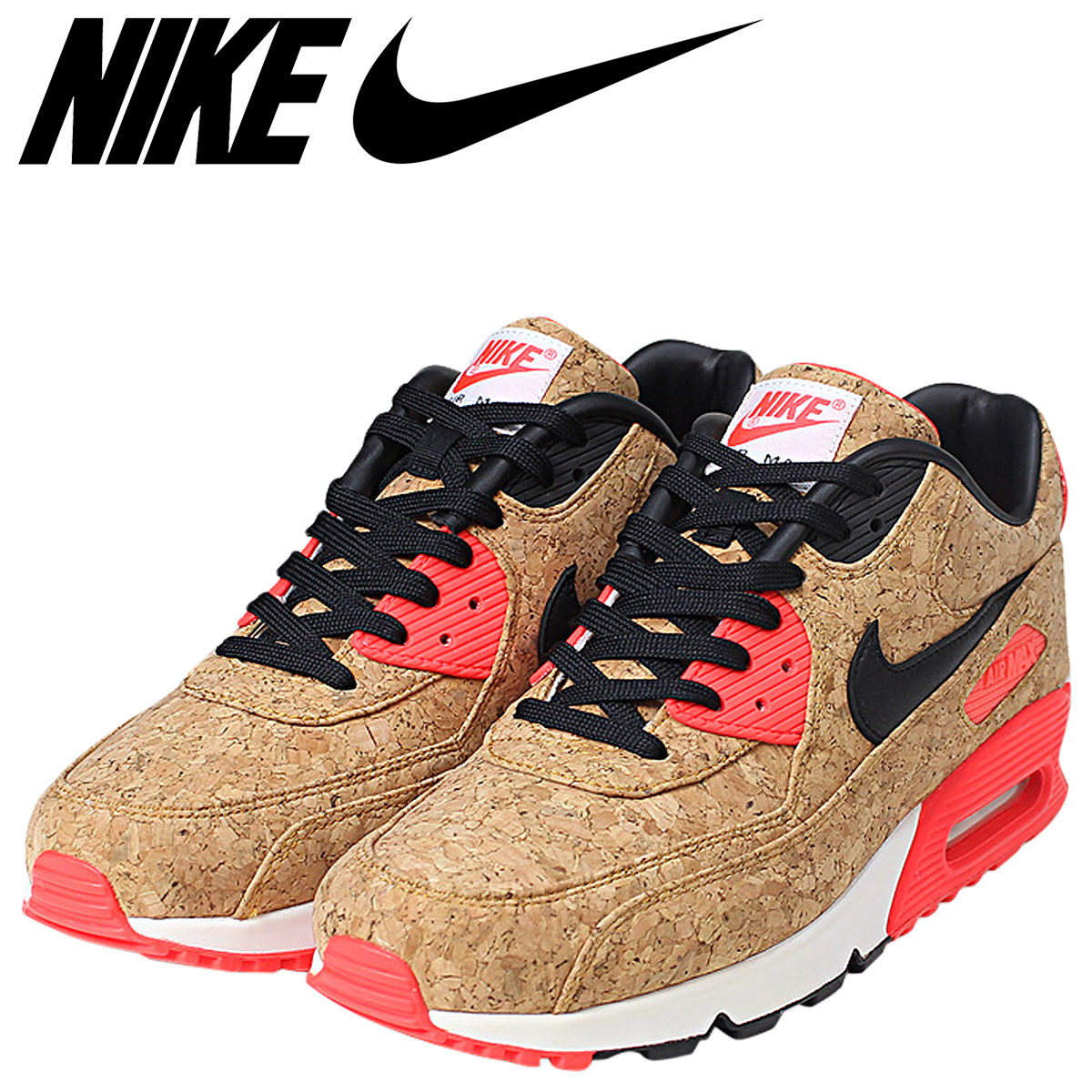 SOLD OUT NIKE Kie Ney AMAX 90 AIR MAX sneakers AIRMAX 90 ANNIVERSARY CORK  men 725 b2e3f08ad