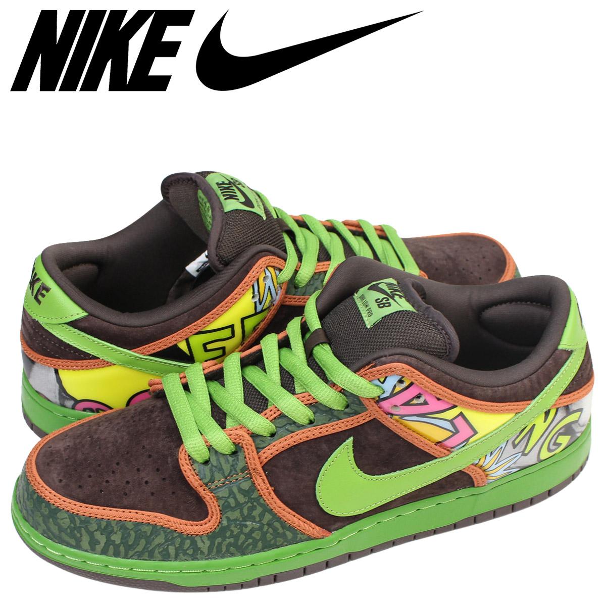 pretty nice 1c00e c0ae0 NIKE Nike SB dunk low sneakers DUNK LOW PREMIUM men 789,841-332 shoes green