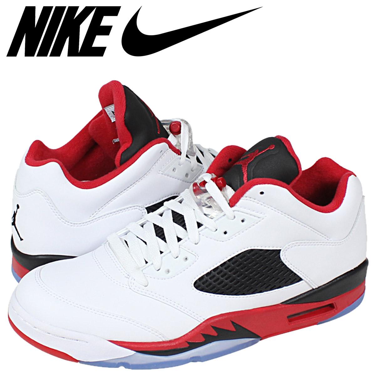 new product b56dc 231c6 Nike NIKE Air Jordan sneakers AIR JORDAN 5 RETRO LOW ALTERNATE 90 Air  Jordan 5 alternate 819171 - 101 white mens