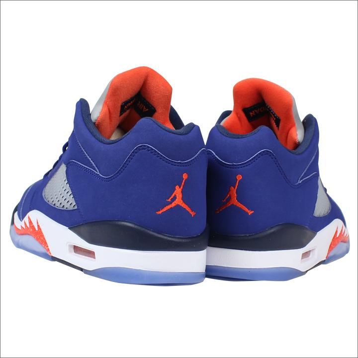 half off a849e beefe Nike NIKE Air Jordan sneakers AIR JORDAN 5 RETRO LOW KNICKS Air Jordan 5  nostalgic low Knicks 819,171-417 blue men