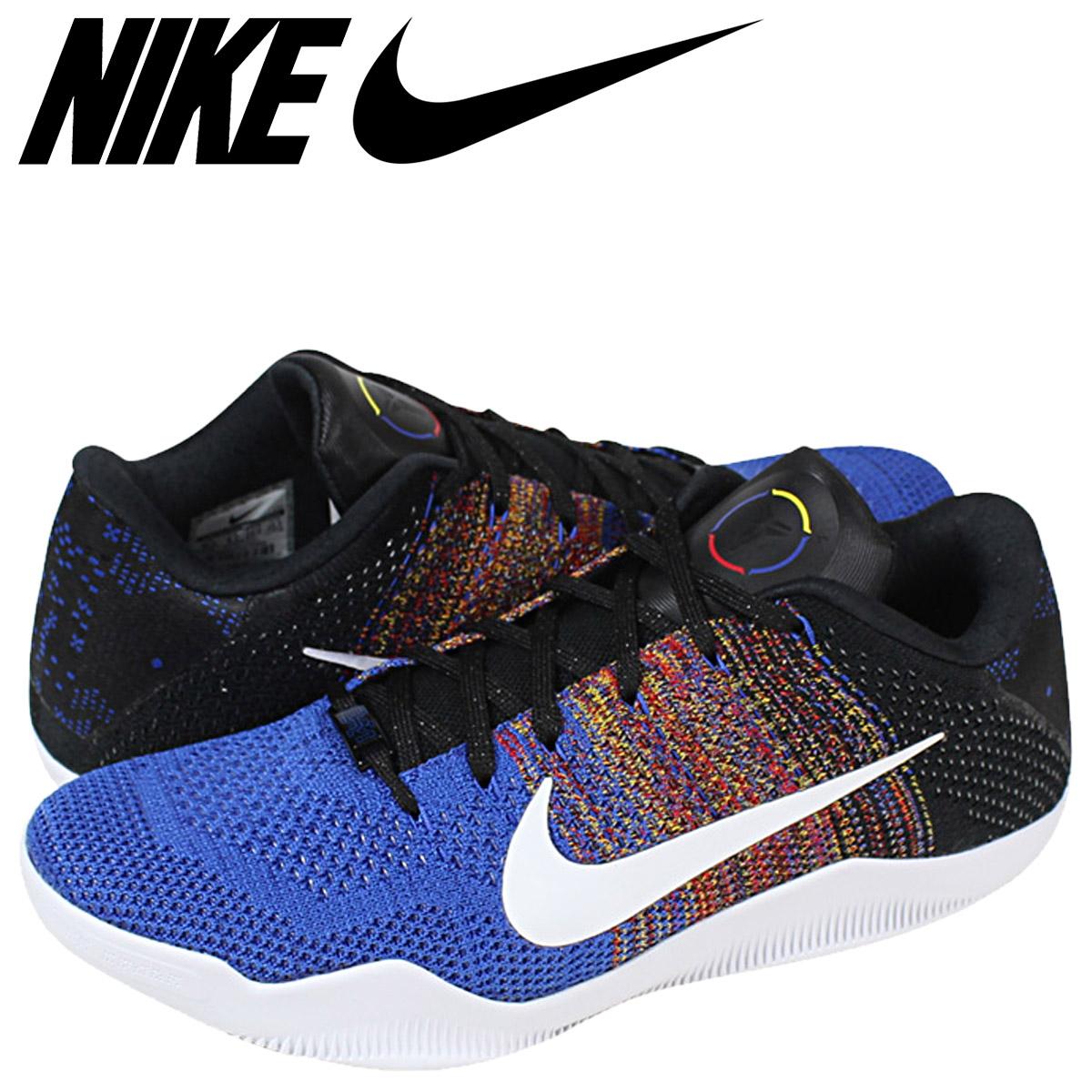 8a34be8c81085 ... Nike NIKE Kobe sneakers KOBE 11 ELITE LOW BHM 822522-914 blue mens ...