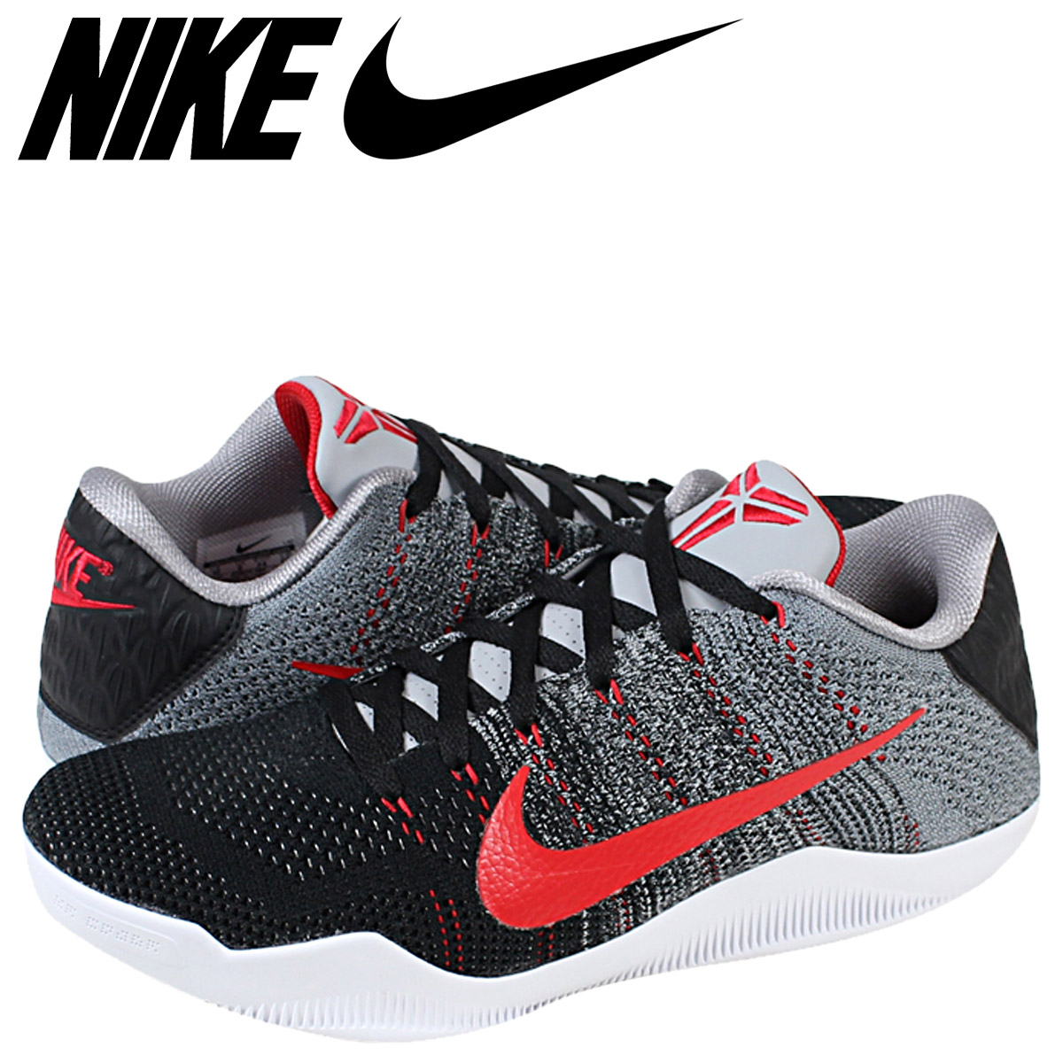 newest f6414 26cbd NIKE Nike Kobe sneakers KOBE XI ELITE LOW TINKER HATFIELD 822675-060 grey  mens ...