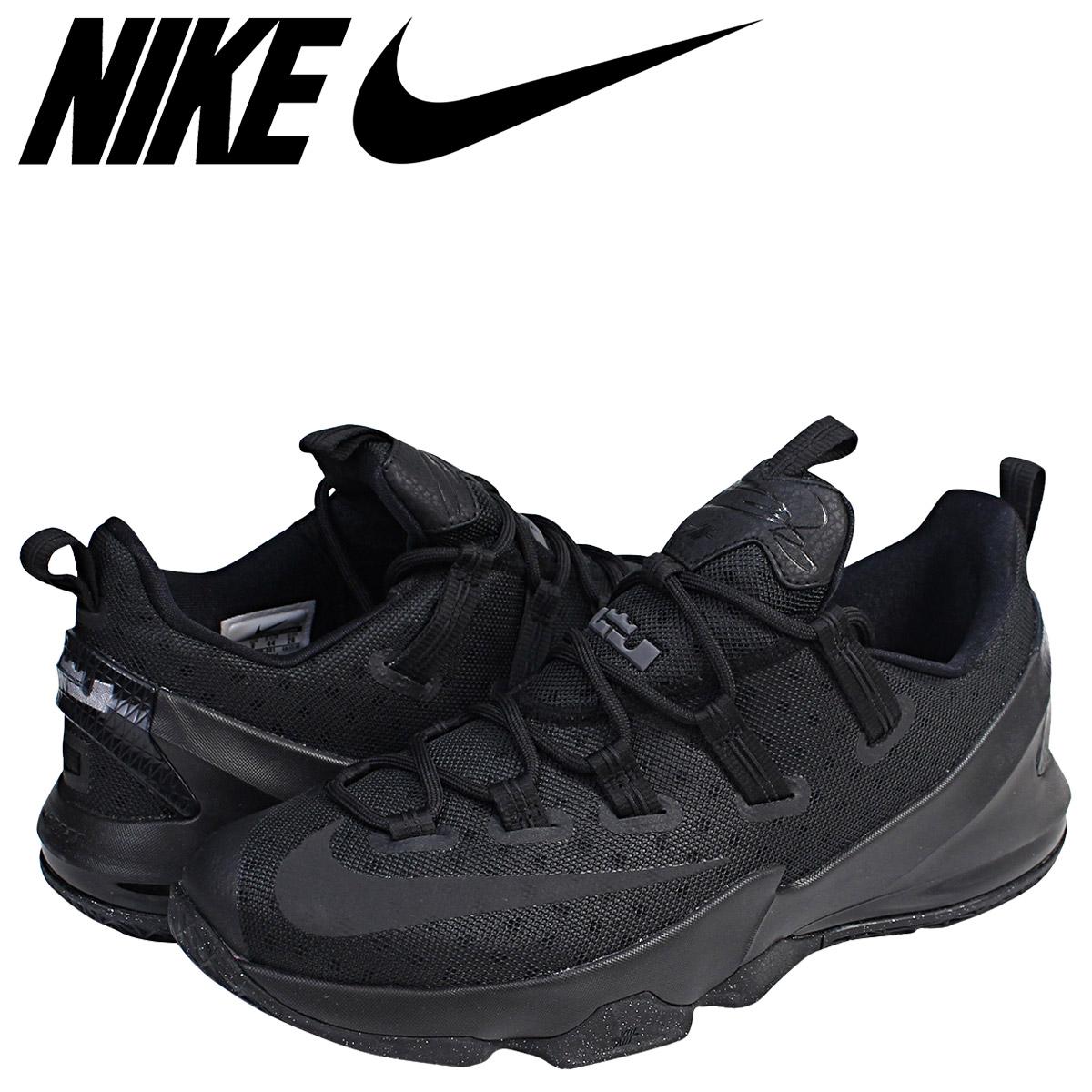 new product f7c40 18f61 NIKE Nike Revlon 13 sneakers LEBRON 13 LOW EP 831,926-001 Revlon James men  shoes black