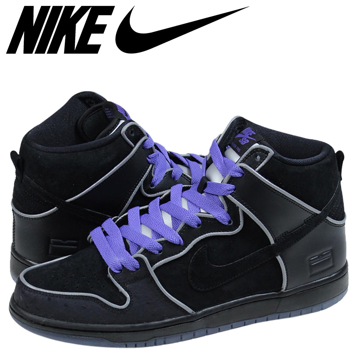 ALLSPORTS  NIKE SB Nike dunk sneakers men DUNK HIGH ELITE BLACK BOX ... 01896dbc6e4c