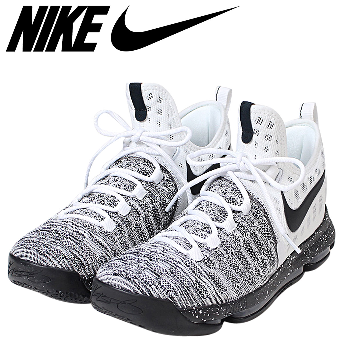 timeless design 49c5a 2e1fb NIKE Nike zoom KD9 sneakers ZOOM KD 9 EP men 844,382-100 Kevin Durant Oreo