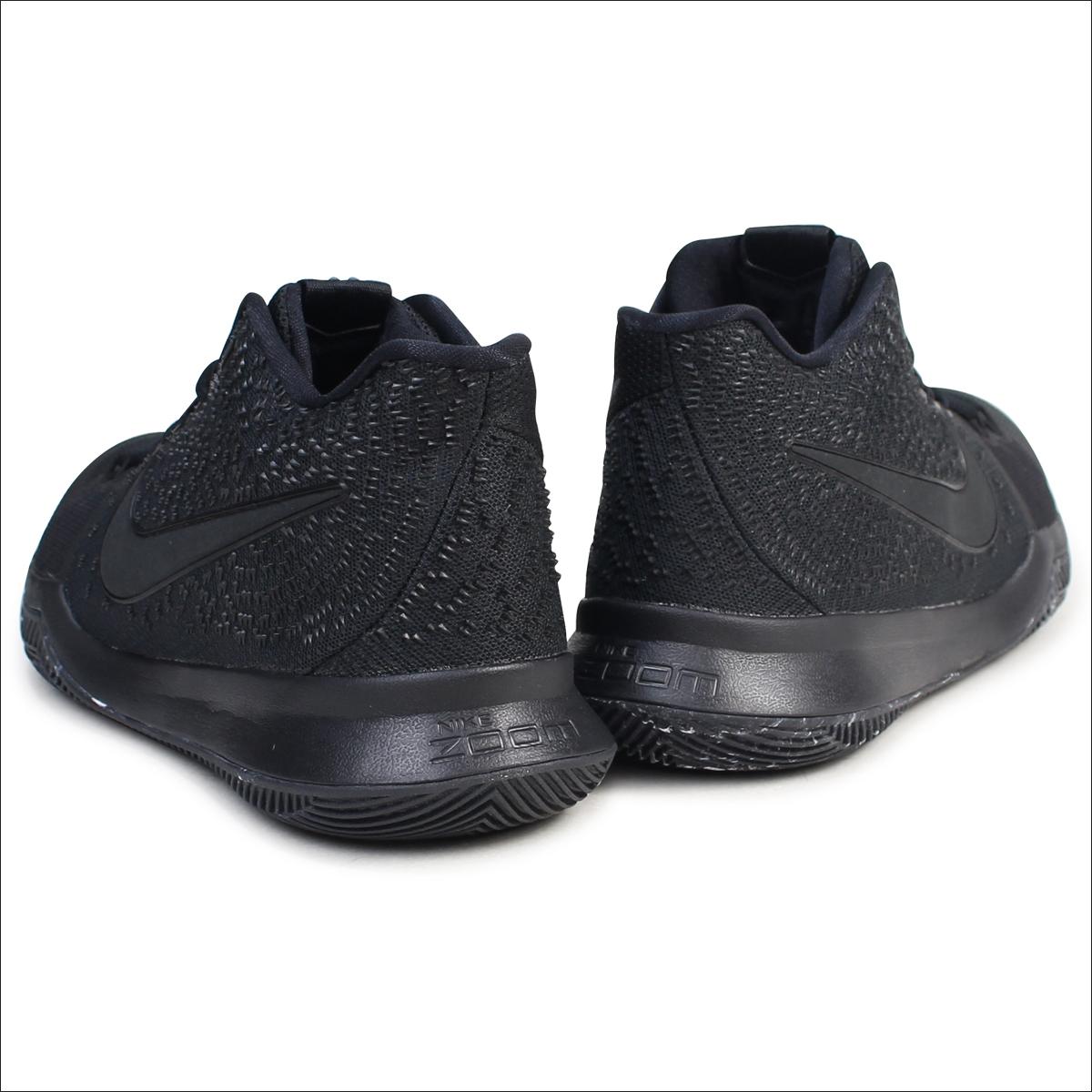 outlet store 94ef1 dec79 NIKE Nike chi Lee 3 sneakers NIKE KYRIE 3 EP TRIPLE BLACK 852,396-005 chi  Lee Irving men shoes black