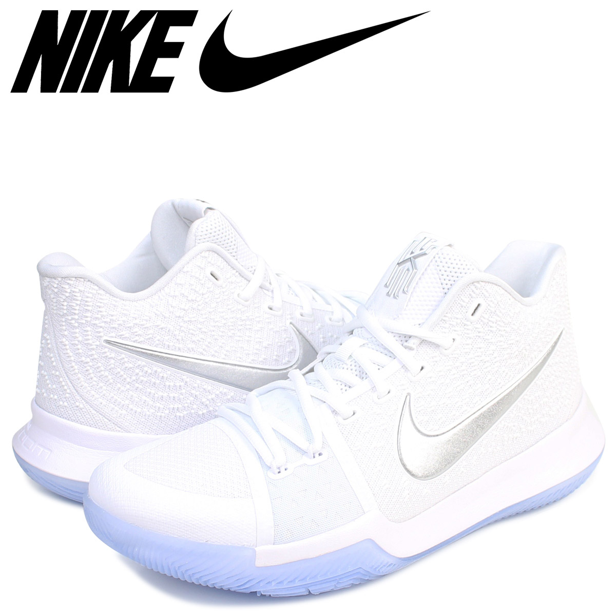check out 5dab5 1b763 NIKE Nike chi Lee 3 sneakers NIKE KYRIE 3 EP DEEP FREEZE 852,396-103 chi  Lee Irving men shoes white