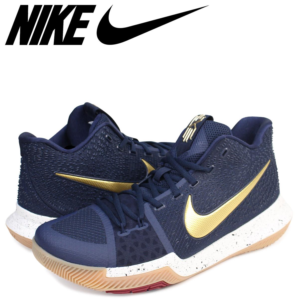 buy popular 205c1 a9967 NIKE Nike chi Lee 3 sneakers KYRIE 3 EP 852,396-400 men's shoes navy