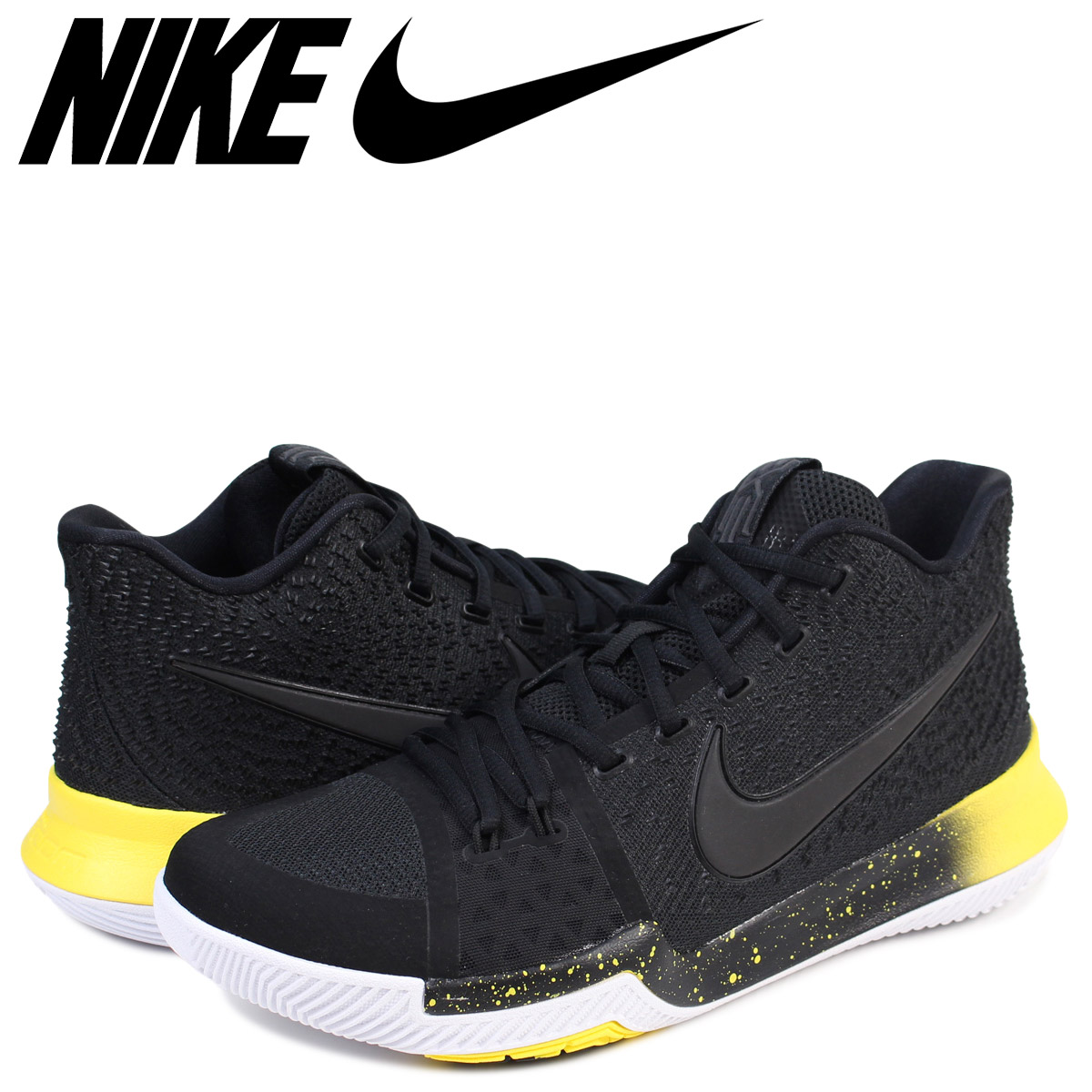 hot sale online 02966 dee97 NIKE Nike chi Lee 3 sneakers KYRIE 3 EP 852,396-901 men's shoes black