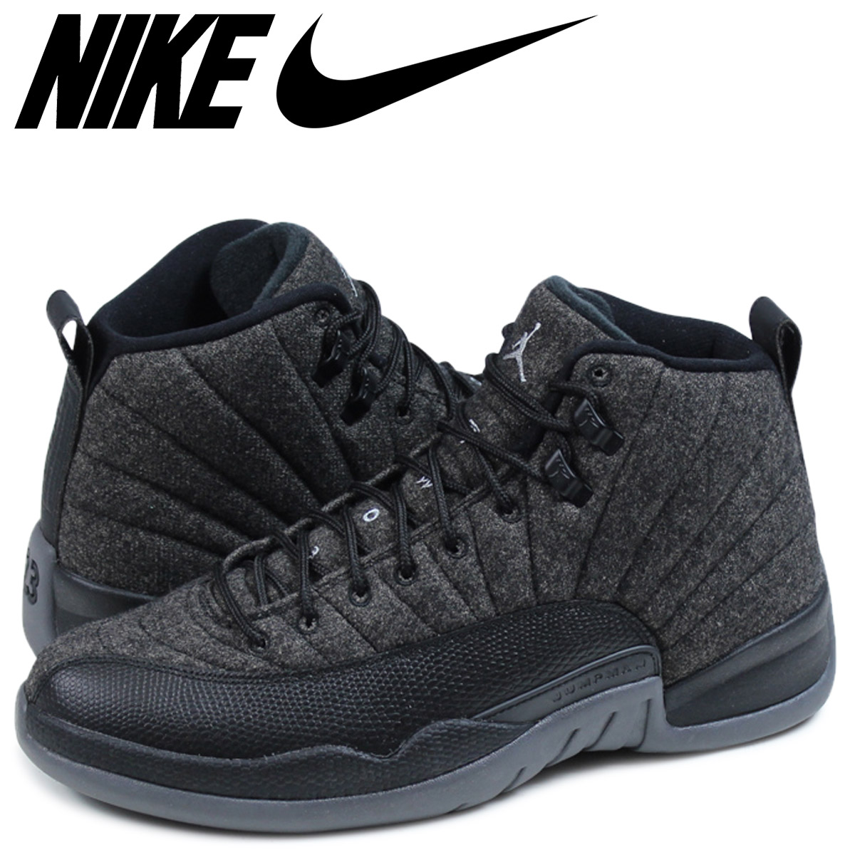 4cb1a29e289 Nike NIKE Air Jordan sneakers men JORDAN AIR JORDAN 12 RETRO WOOL Air Jordan  12 852,627 ...