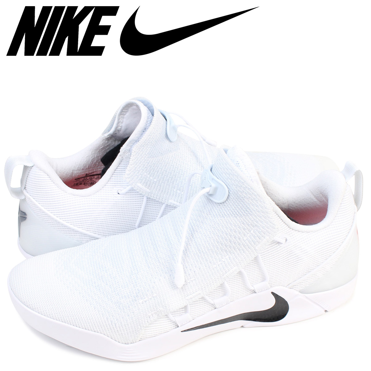 Nike Kobe A.D.NXT White Black 882049_100 Chaussures Nike