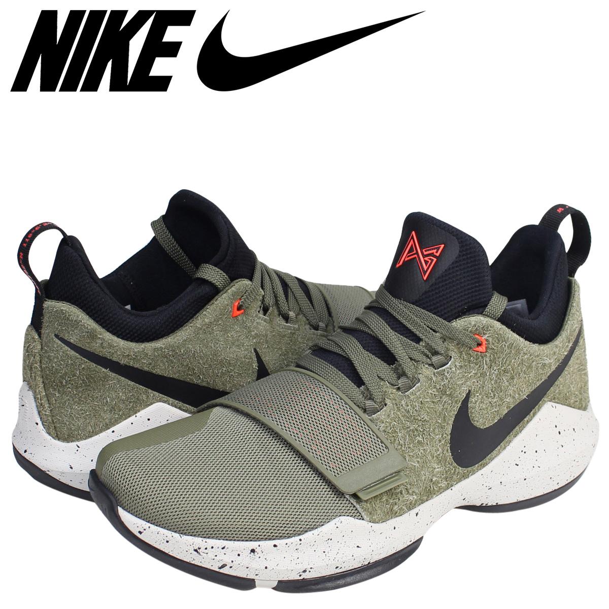 newest a0ba0 a3f35 NIKE Nike PG1 sneakers ELEMENTS EP 911,084-200 poles George men shoes khaki