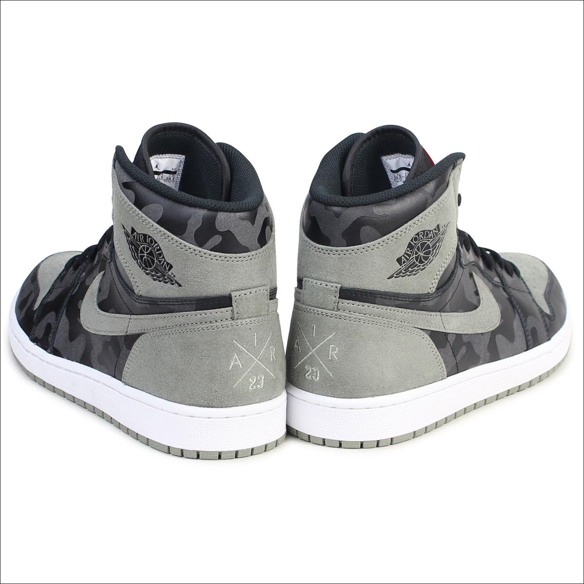 7104c799d7eaa [SOLD OUT] NIKE Nike Air Jordan 1 nostalgic high sneakers AIR JORDAN 1  RETRO HIGH PREMIUM AA3993-034 men shoes black