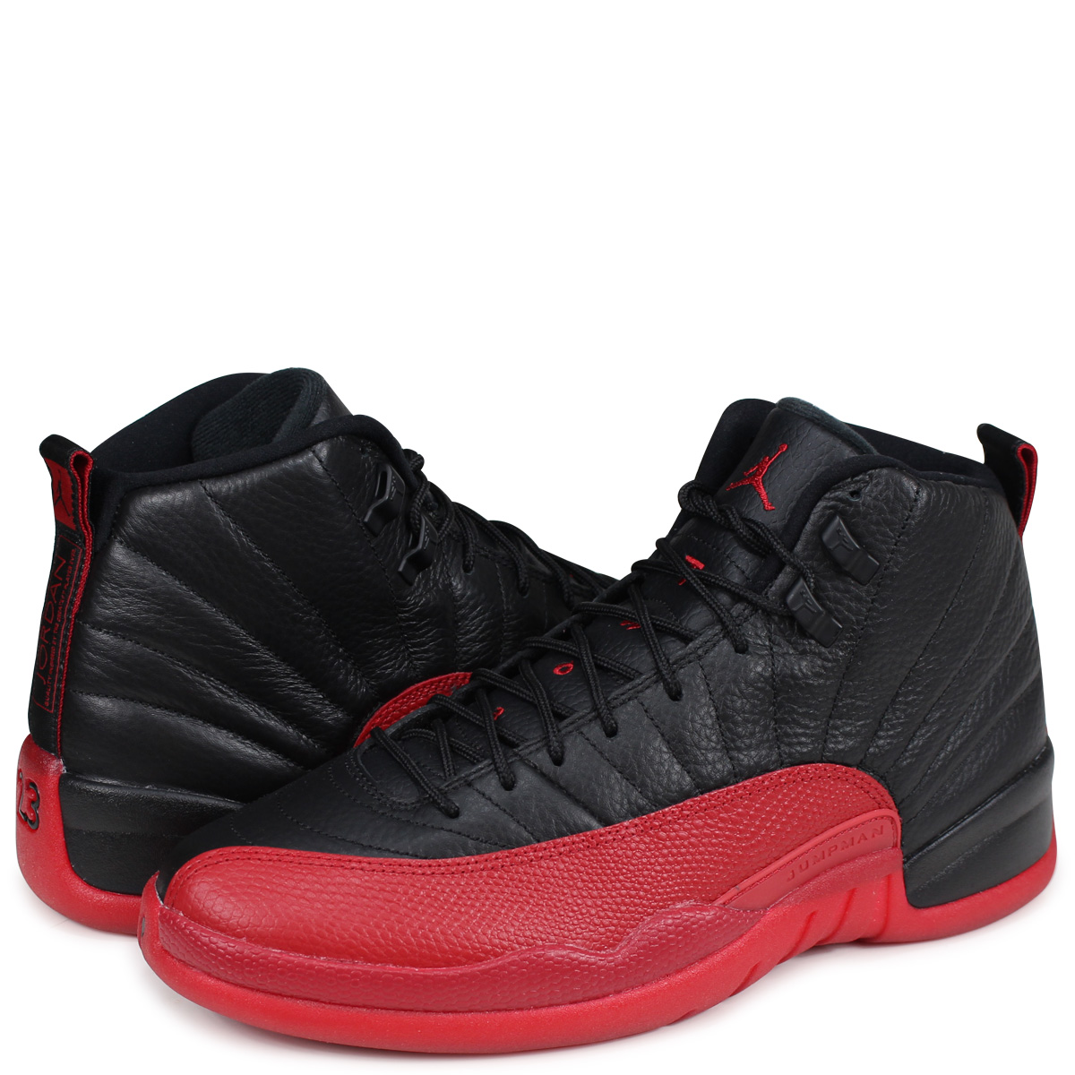 a159fb5d80204 NIKE AIR JORDAN 12 RETRO FLU GAME Nike Air Jordan 12 nostalgic sneakers  men s full game 130
