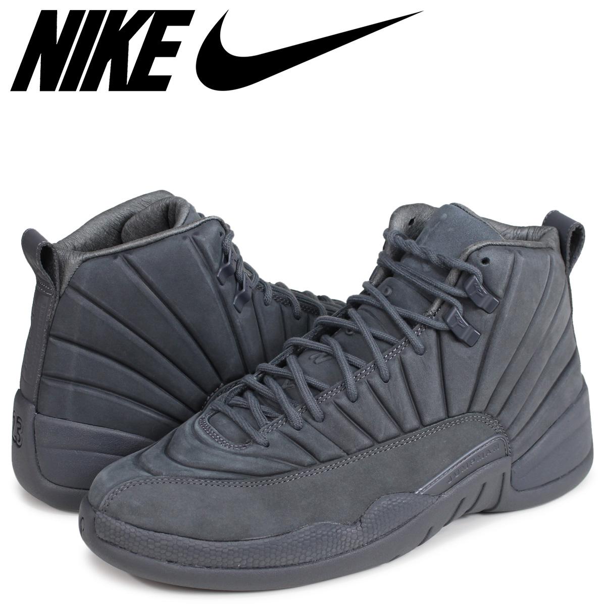 5c1973d2178 NIKE AIR JORDAN 12 RETRO PSNY Nike Air Jordan 12 nostalgic sneakers 130,690-003  gray ...