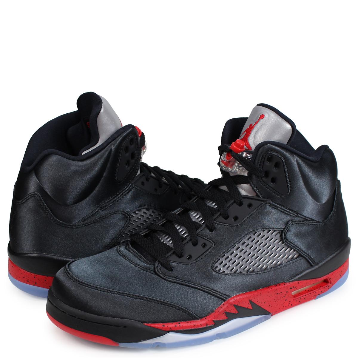 Nike NIKE Jordan 5 nostalgic sneakers men AIR JORDAN 5 RETRO black 136,027 006