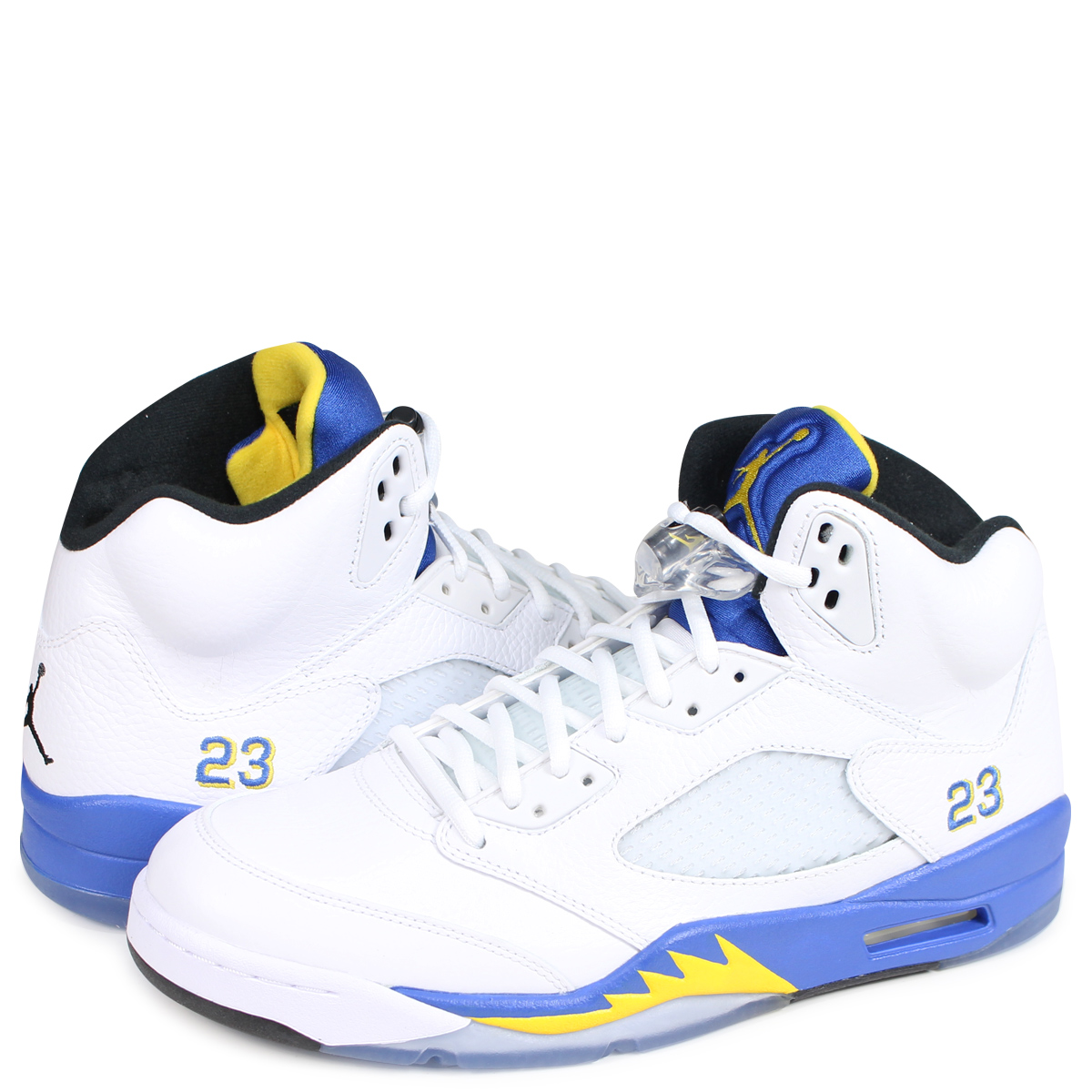 outlet store 7e80f bd7d0 NIKE AIR JORDAN 5 RETRO LANEY Nike Air Jordan 5 nostalgic sneakers men  136,027-189 white  1810