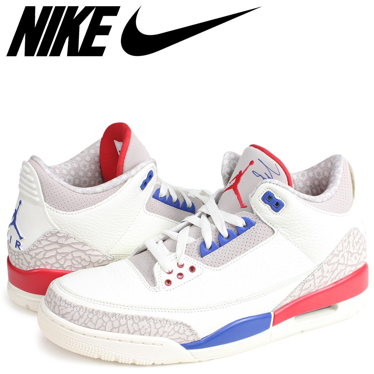 4886a6f1983c NIKE AIR JORDAN 3 RETRO CHARITY GAME Nike Air Jordan 3 nostalgic sneakers  men 136