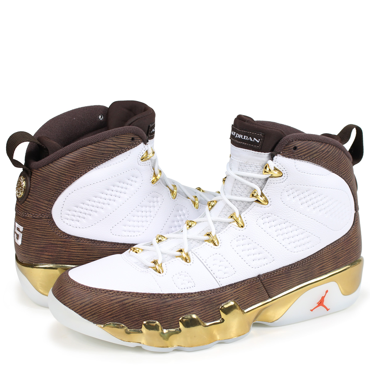 brand new 8a54f 94f1f NIKE AIR JORDAN 9 RETRO MOP MELO Nike Air Jordan 9 nostalgic sneakers men  302,370-122 white [189]