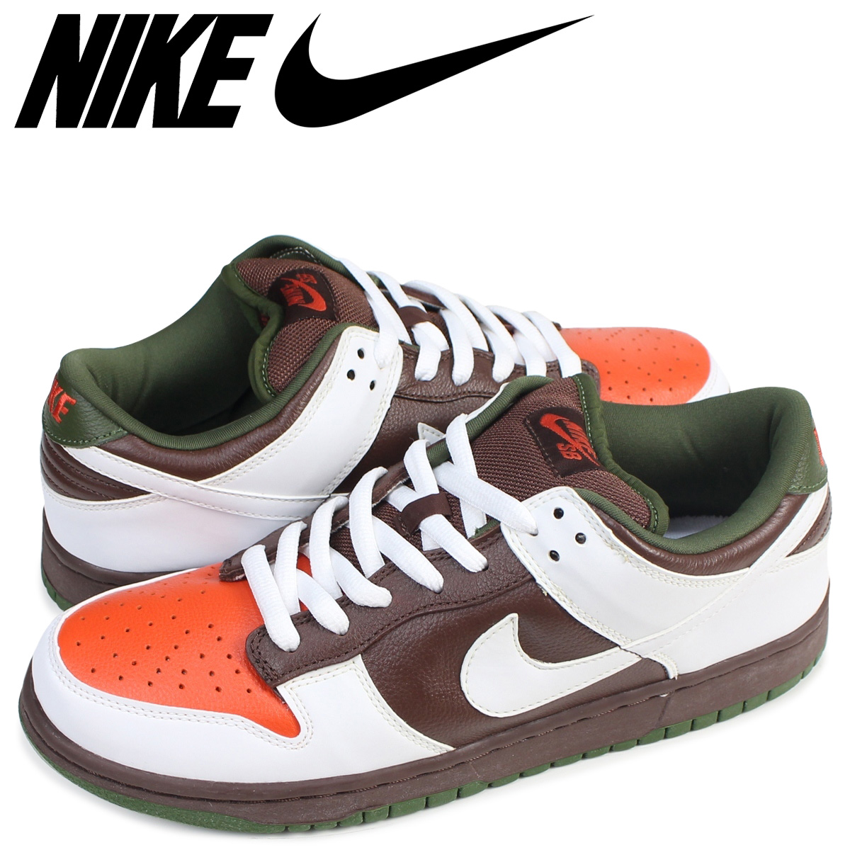 new style 22760 d9181 NIKE Nike SB dunk low sneakers DUNK LOW PRO OOMPA LOOMPA 304,292-228 men's  shoes brown