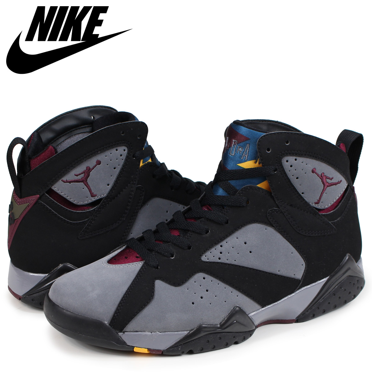 NIKE AIR JORDAN 7 RETRO Nike Air Jordan 7 nostalgic sneakers men 304,775 003 black [189]