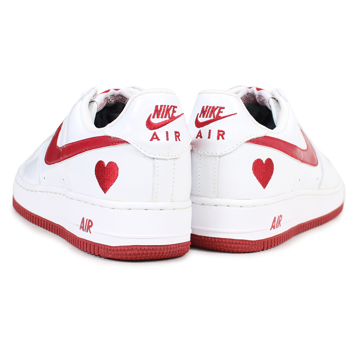 170c83a6e6 ... NIKE WMNS AIR FORCE 1 VALENTINE DAY 2004 Nike air force 1 sneakers men  white 307,109 ...