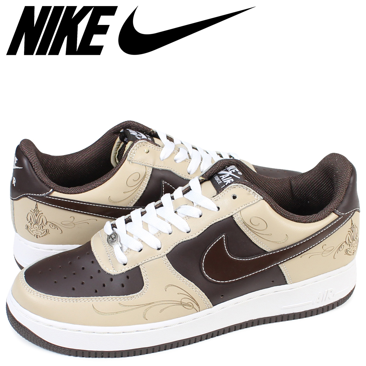 new concept 809ea 6b443 ALLSPORTS NIKE AIR FORCE 1 MR CARTOON Nike air force 1 sneakers  307,334-221 mens shoes brown 1711  Rakuten Global Market