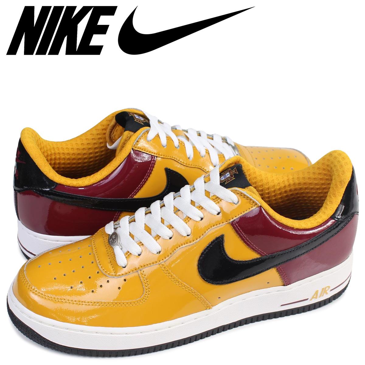 NIKE Nike air force 1 sneakers AIR FORCE 1 LOW PREMIUM PORTUGAL 309,096 701 low men shoes yellow