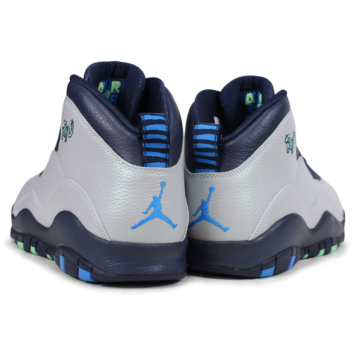 detailed pictures 51991 43dca  SOLD OUT  NIKE Nike Air Jordan sneakers AIR JORDAN 10 RETRO RIO Air Jordan  10 retro 310805 - 019 grey mens