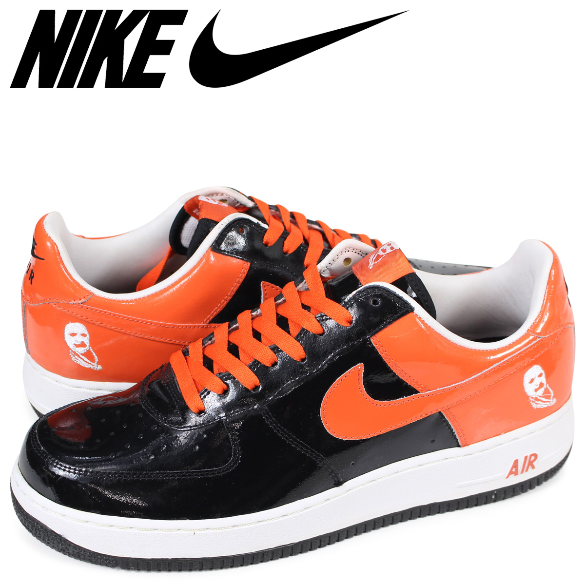 online store 519fa 08316 NIKE AIR FORCE 1 LOW PREMIUM HALLOWEEN Nike air force 1 sneakers men black  312,945-081 [183]