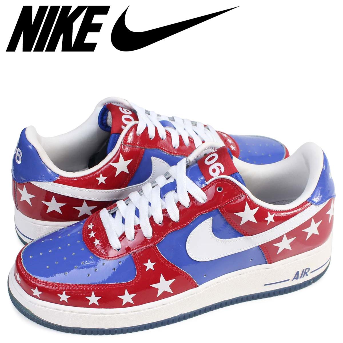 NIKE Nike air force 1 sneakers AIR FORCE 1 PREMIUM ALL STAR 06 309,096 441 low men shoes blue