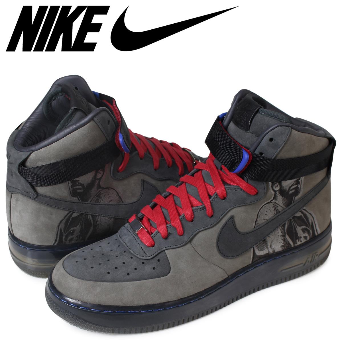 NIKE AIR FORCE 1 HIGH Nike air force 1 07 sneakers men 315,096-001 gray  [185]
