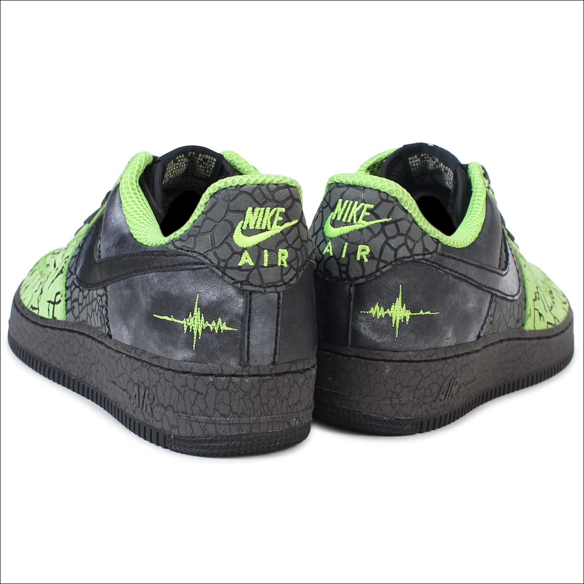 premium selection 151b4 cb0f9 NIKE air force 1 sneakers AIR FORCE 1 HUFQUAKE 315,206-301 low men shoes  green