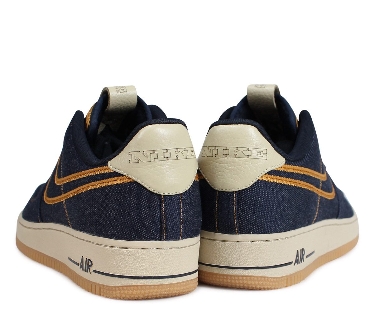 Nike NIKE air force 1 sneakers men AIR FORCE 1 LOW PREMIUM DENIM blue 318,775 404