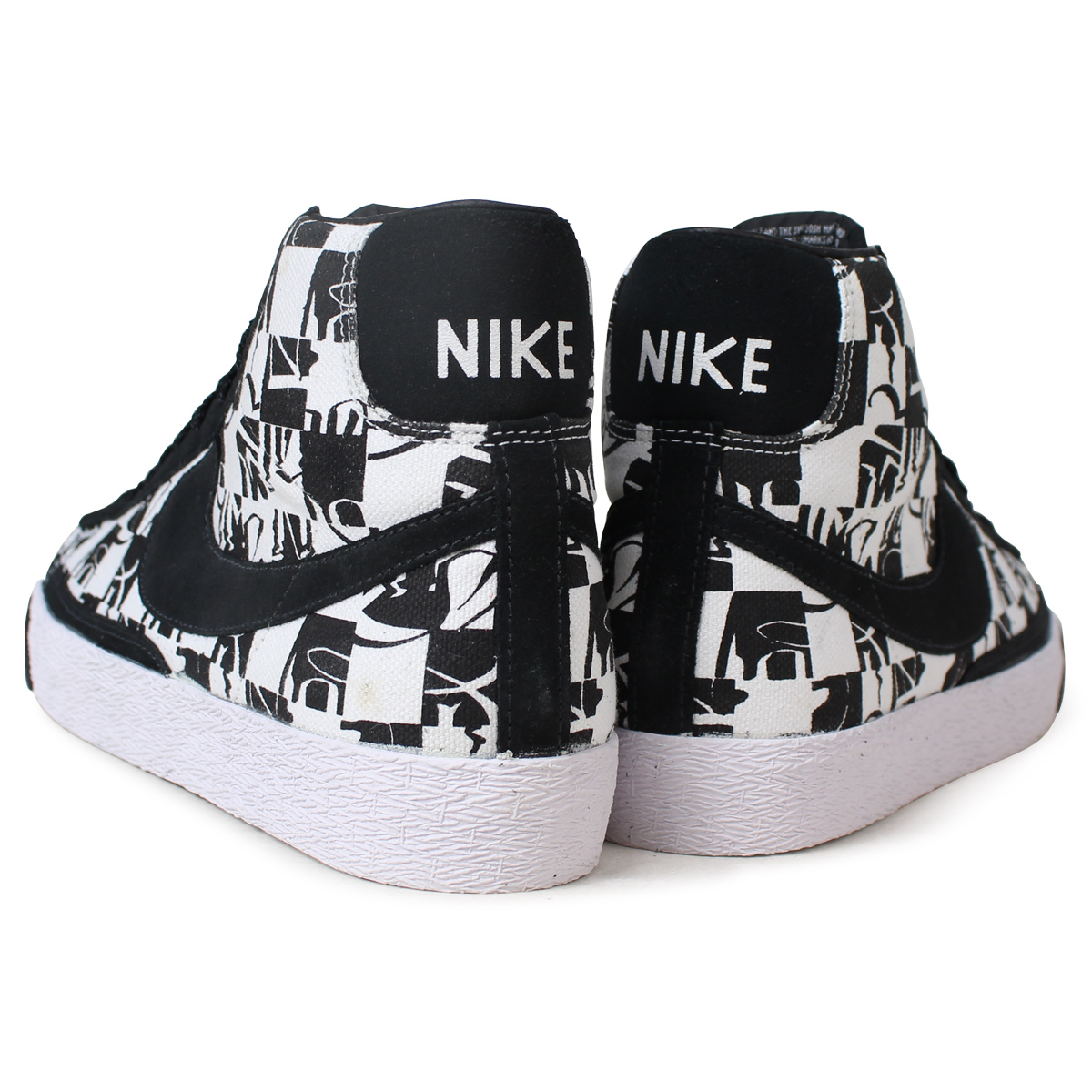 buy popular 3f83b 84398 NIKE BLAZER HIGH PREMIUM TZ NEIGHBORHOOD Nike blazer sneakers 332,286-101  white [185]