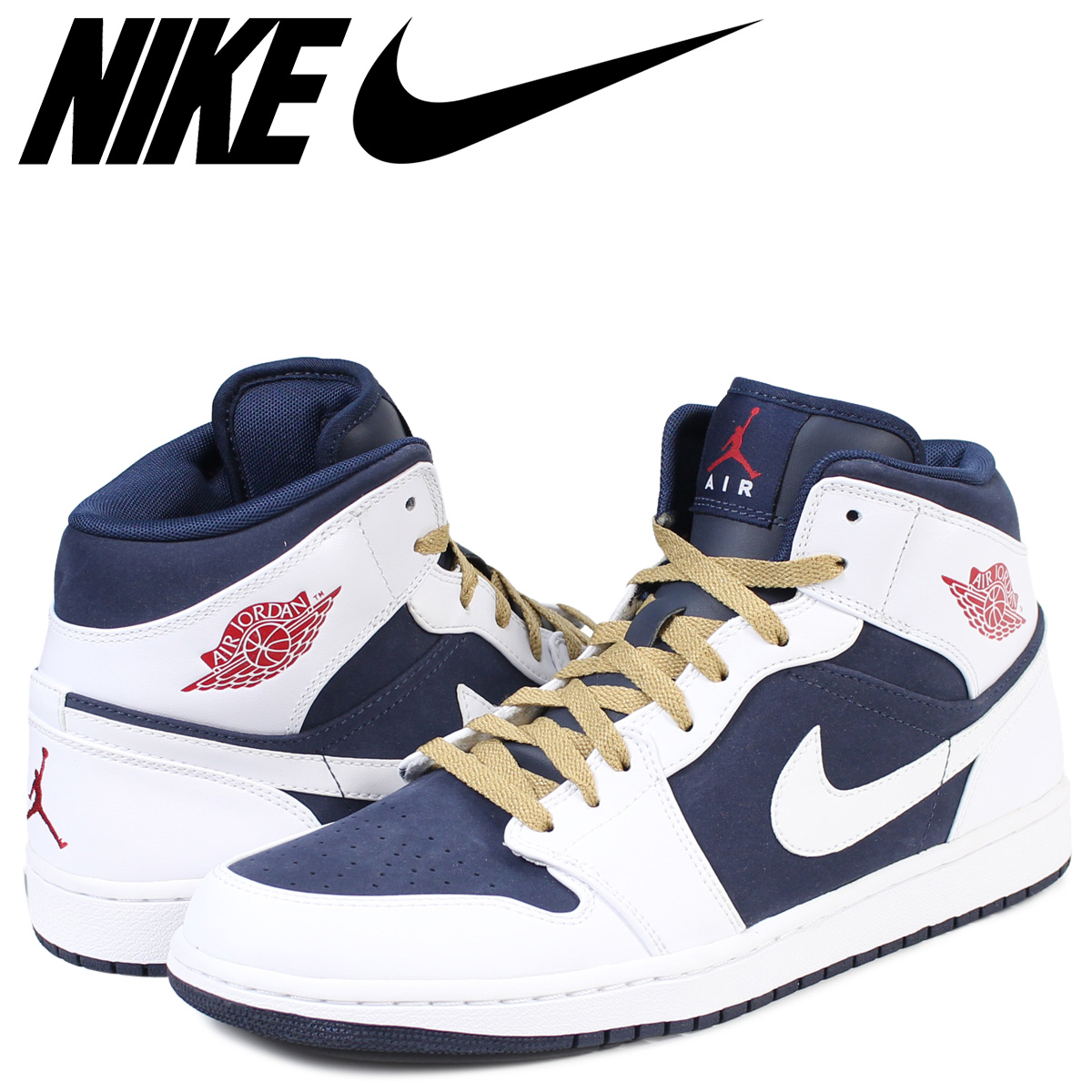 NIKE AIR JORDAN 1 PHAT Nike Air Jordan 1 fat sneakers men shoes white  1711  9501e3b0e
