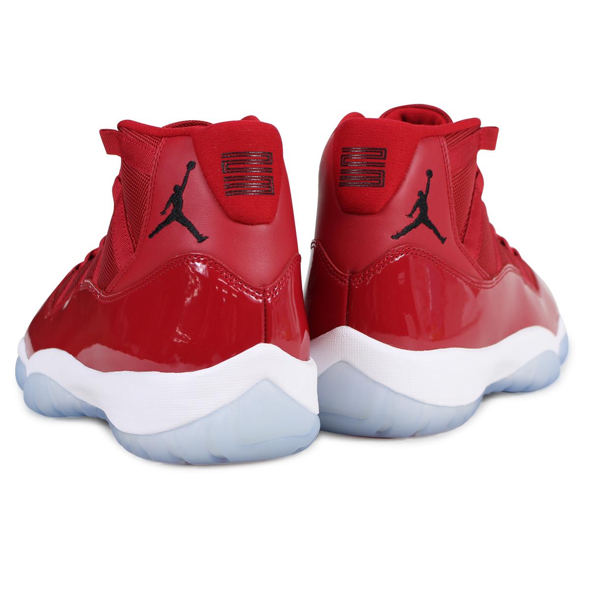 another chance 37eee 5c17d NIKE AIR JORDAN 11 RETRO WIN LIKE 96 Nike Air Jordan 11 nostalgic sneakers  378,037-623 men's red