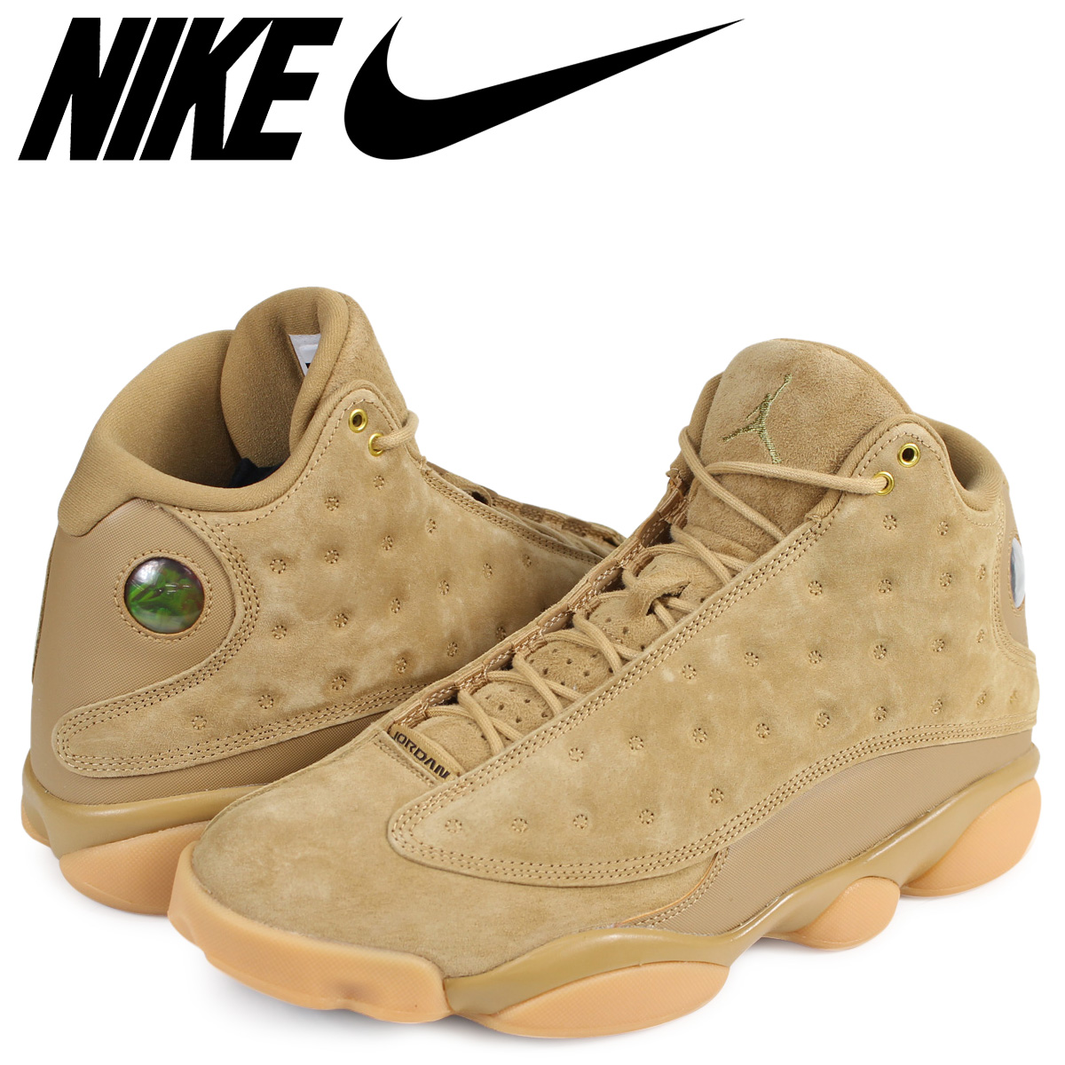 quality design 6a609 e922a NIKE AIR JORDAN 13 RETRO Nike Air Jordan 13 nostalgic sneakers 414,571-705  men's beige