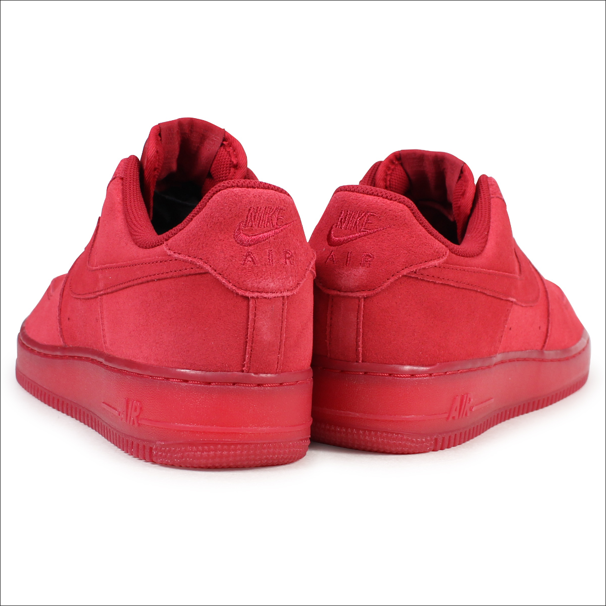 NIKE AIR FORCE 1 07 LV8 RED SUEDE Nike air force 1 sneakers 718,152 601 men's shoes red [1711]