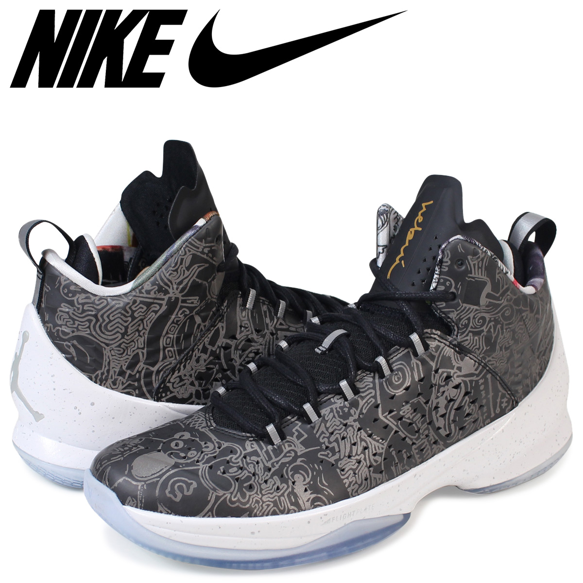 best website a5aec dd5ed ... free shipping nike nike air jordan melo sneakers air jordan melo m11  hebru 814286 050 mens