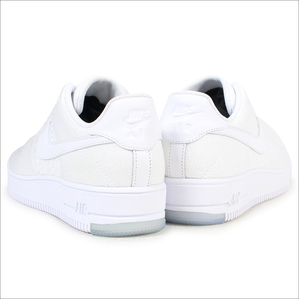 lowest price 302a5 c9061 NIKE AIR FORCE 1 ULTRA FLYKNIT LOW Nike air force 1 fly knit sneakers  817,419-100 men's shoes white [1711]