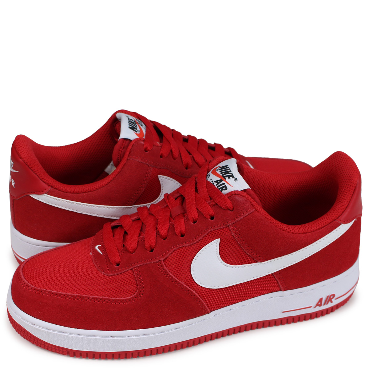 air force 1 low top red