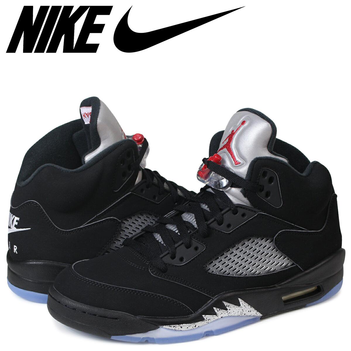 the best attitude 40c07 64a1d NIKE AIR JORDAN 5 RETRO OG Nike Air Jordan 5 nostalgic sneakers 845,035-003  black  185