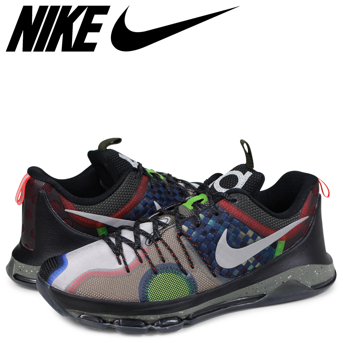 best authentic 2f5c1 c6da5 NIKE SE EP WHAT THE Nike KD 8 sneakers men 845,895-999 Kevin Durant black  ...