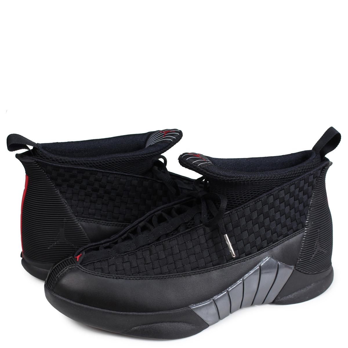79b0095e78b Nike NIKE Jordan 15 nostalgic sneakers men AIR JORDAN 15 RETRO black  881,429-001 ...