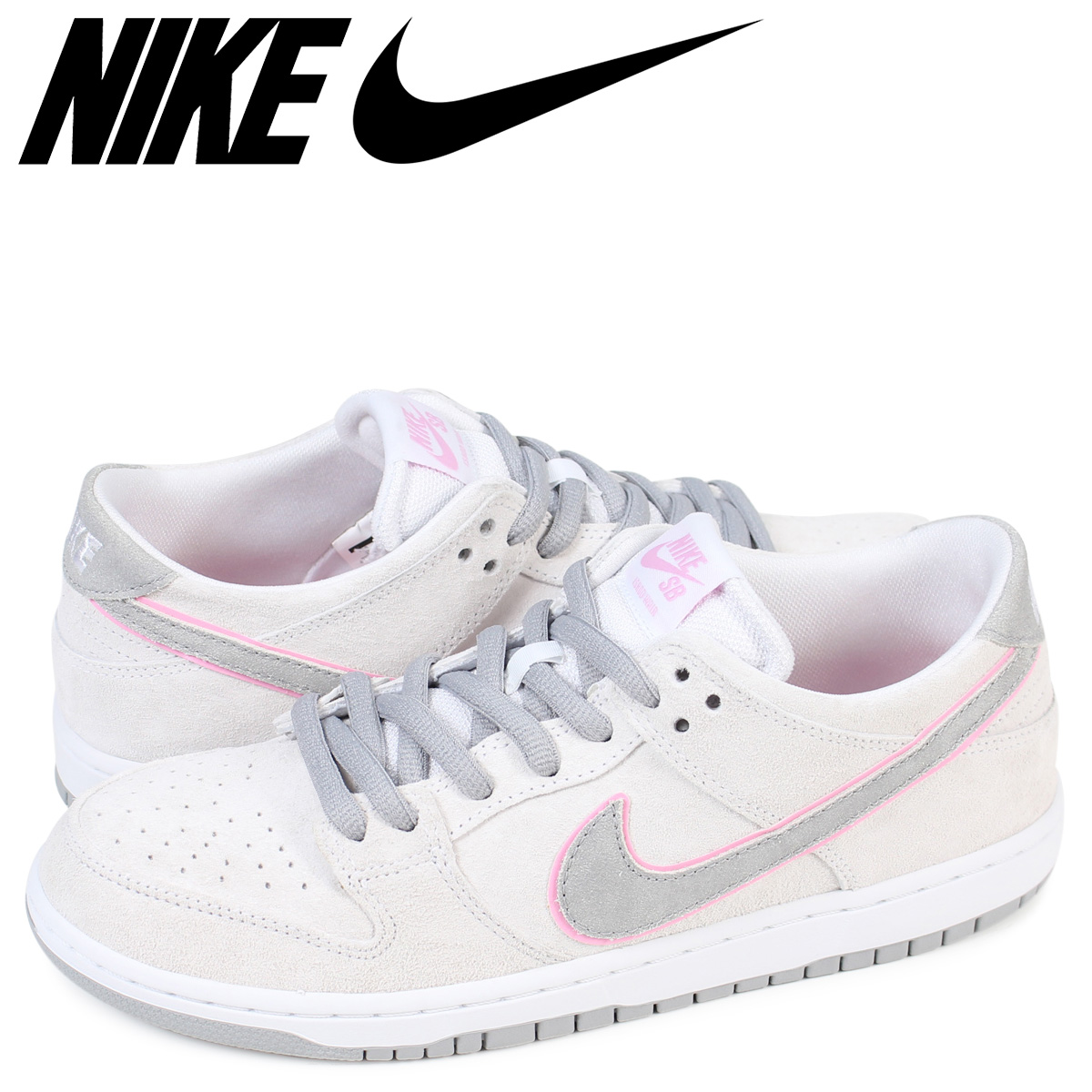 factory price daa79 d0ade NIKE SB ZOOM DUNK LOW PRO IW Nike dunk low sneakers 895,969-160 men's pink  [1711]