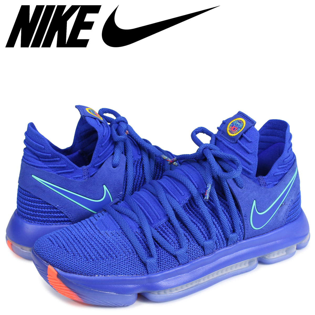 newest a364a 935aa NIKE ZOOM KD 10 Nike KD 10 sneakers men 897,816-402 Kevin Durant blue [187]