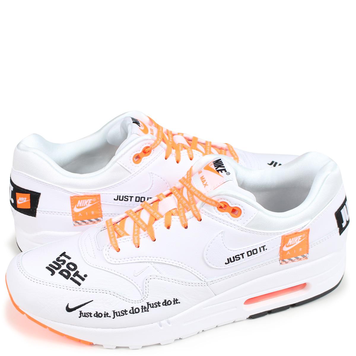 NIKE WMNS AIR MAX 1 LX Kie Ney AMAX 1 sneakers men 917,691 100 white