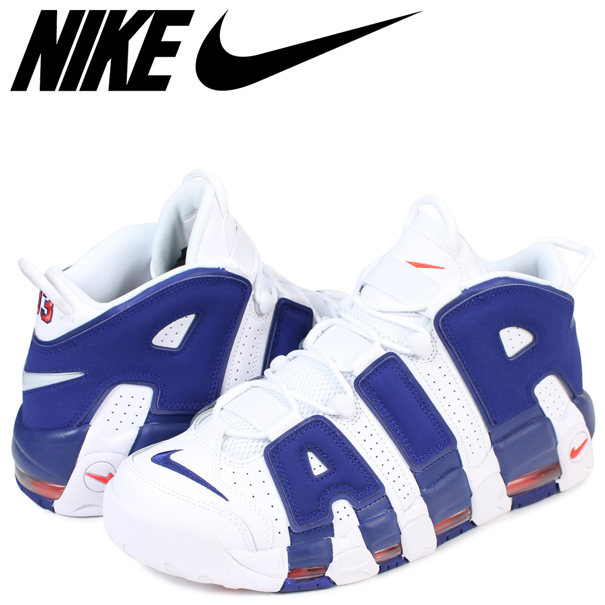 87eb590044 NIKE AIR MORE UPTEMPO 96 KNICKS Nike air more up tempo sneakers 921,948-101  men's ...